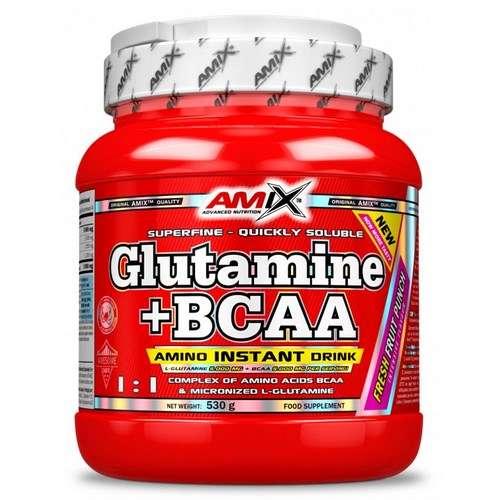 GLUTAMINA+BCAA 530GR