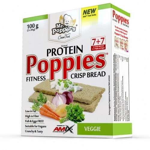 POPPIES CRISP BREAD 100G