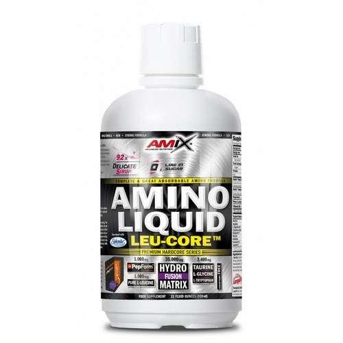 AMINO LIQUID LEU-CORE 920 ML CEREZA