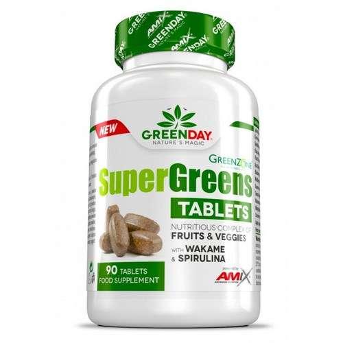 SUPER GREENS TABLETS 90 TABL