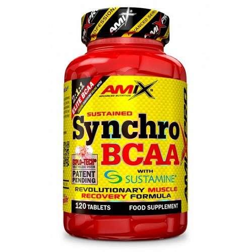 SYNCHRO BCAA + SUSTAMINE 120 TABL