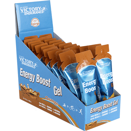 ENERGY BOOST GEL 42G NARANJA