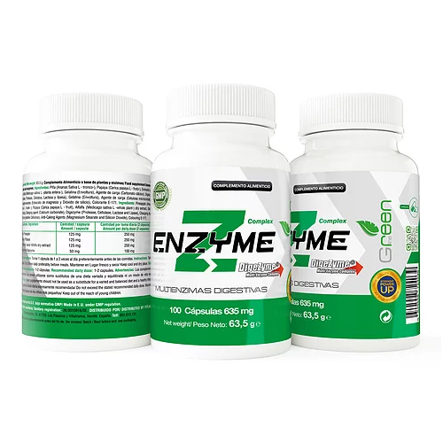 MULTIENZIME DIGEZYME 535MG 100 CAPS