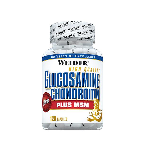 GLUCOSAMINE CHONDROITINE + MSM 120 CAPS