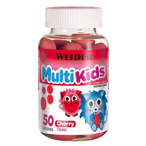 MULTIKIDS UP 50 GOMINOLAS CEREZA