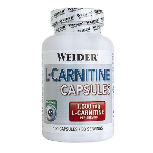 L-CARNITINA 100 CAPS