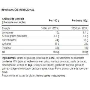 iTECH 32% PROTEIN BAR 60G
