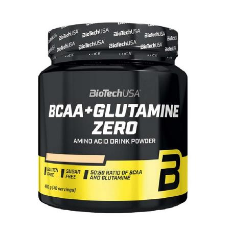 BCAA + GLUTAMINA ZERO 480G