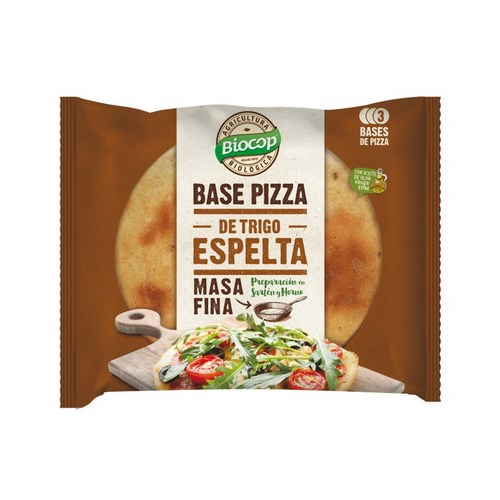 BASE DE PIZZA DE ESPELTA 390G