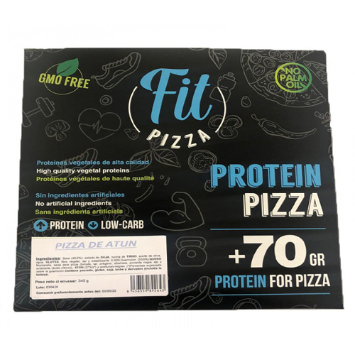 PIZZA PROTEICA ATUN FIT PIZZA