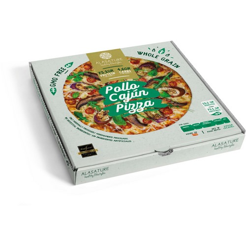 PIZZA POLLO CAJÚN ALASATURE