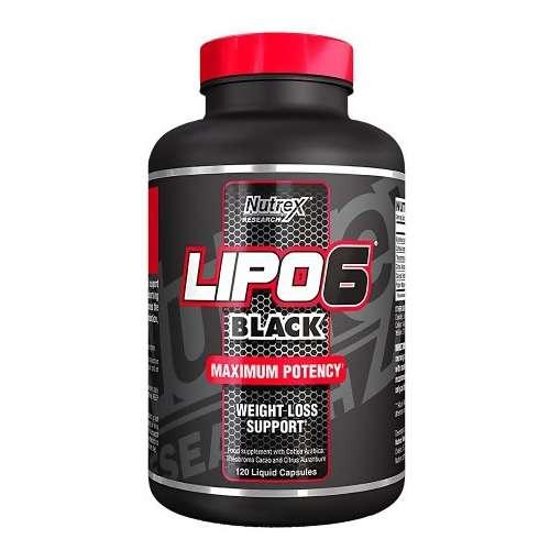 LIPO 6 BLACK 120 CAPS