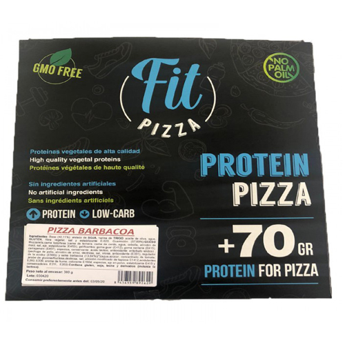 PIZZA PROTEICA BARBACOA FIT PIZZA