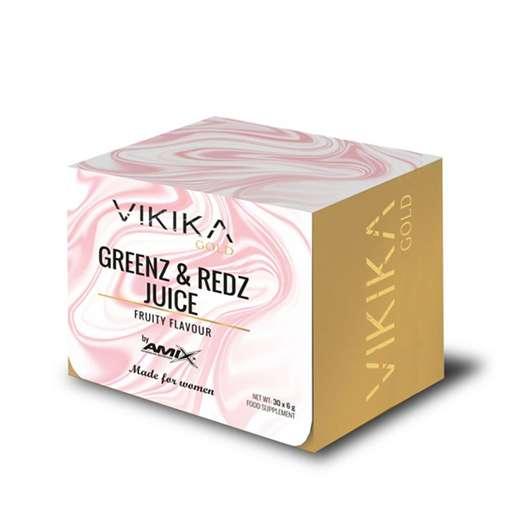 Vikika Gold by Amix Greenz & Reds 30 sobres x 6 gr