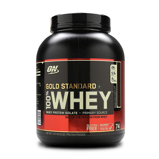Optimum Nutrition Proteína On 100% Whey Gold Standard (2,27 Kg) 5 Lbs