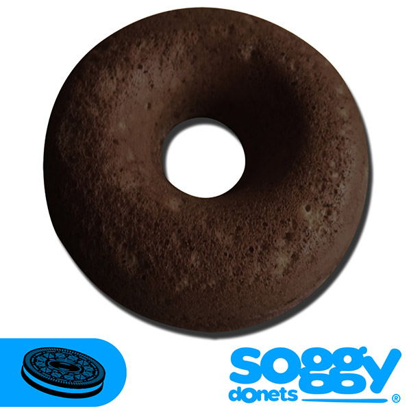 Soggy de galletas oreo