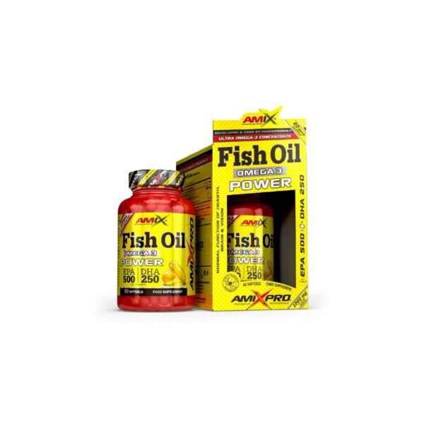 Fish Oil Omega 3 Power 60 capsulas