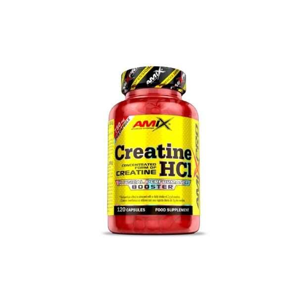 Creatine HCl 120 capsulas