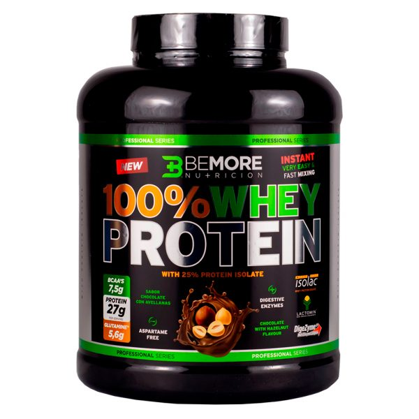 100% WHEY PROTEIN PROFESSIONAL CHOCOLATE Y AVELLANAS 2KG